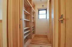 脱衣室の様子。(2014-03-24,共用部,BATH,2F)