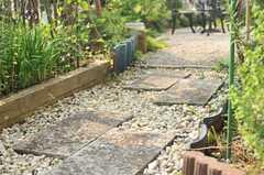石畳、雰囲気があります。(2014-06-17,共用部,OTHER,1F)