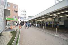 小田急小田原線・鶴川駅の様子。(2014-06-17,共用部,ENVIRONMENT,1F)