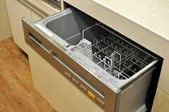 食器洗浄機もあります。(2014-05-27,共用部,KITCHEN,2F)