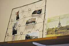 風景写真が飾られています。(302号室)(2014-05-27,専有部,ROOM,3F)