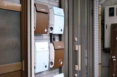 部屋ごとに用意されたポスト。(2011-12-02,共用部,OTHER,1F)