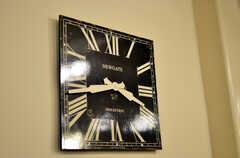 時計。(2011-12-02,共用部,OTHER,1F)