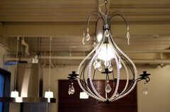 可愛らしいランプ。(2011-12-02,共用部,LIVINGROOM,1F)