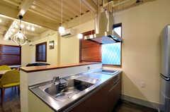 キッチンの様子。(2011-12-02,共用部,KITCHEN,1F)