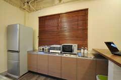 キッチン家電の様子。(2011-12-02,共用部,KITCHEN,1F)