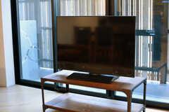 共用TVの様子。(2020-03-24,共用部,TV,1F)