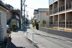 駅からシェアハウスへ向かう道の様子。(2020-03-24,共用部,ENVIRONMENT,1F)