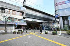 JR南武線・武蔵中原駅の様子。(2020-03-24,共用部,ENVIRONMENT,1F)