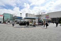 東急田園都市線・鷺沼駅前の様子。(2021-02-25,共用部,ENVIRONMENT,1F)