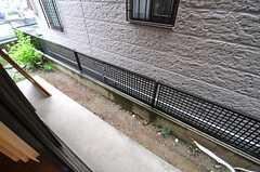 庭の様子。(101号室)(2013-04-02,専有部,ROOM,1F)