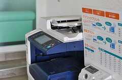 プリンタは業務用のものが設置されています。(2013-08-22,共用部,OTHER,1F)