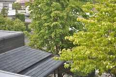 窓からの景色。(247号室)(2013-08-22,専有部,ROOM,2F)