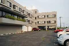 駐車場の様子。(2013-08-22,共用部,ENVIRONMENT,1F)