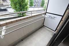 ベランダの様子。(403号室)(2013-08-22,専有部,ROOM,4F)