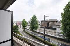 ベランダからの景色。(403号室)(2013-08-22,専有部,ROOM,4F)