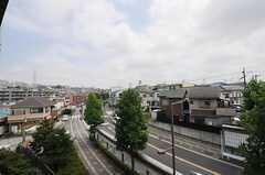 ベランダからの景色はこんな感じ。(503号室)(2013-08-22,専有部,ROOM,5F)