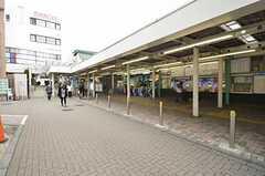 小田急小田原線・鶴川駅の様子。(2015-03-10,共用部,ENVIRONMENT,1F)