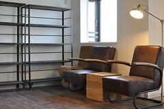 本棚も用意されています。(2014-08-19,共用部,OTHER,1F)