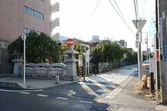 各線・溝の口駅からシェアハウスへ向かう道の様子。(2014-08-19,共用部,ENVIRONMENT,1F)