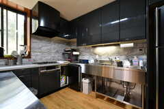 シェアハウスでは朝・夕で住み込みの調理師さんが食事を提供してくれます。(A棟)(2019-03-01,共用部,OTHER,2F)