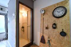 ドアの先はシャワールームです。※モデルルームです(A101号室)(2019-03-01,専有部,ROOM,1F)