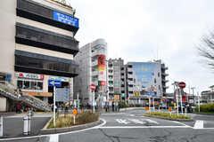 小田急線・向ヶ丘遊園駅周辺の様子2。(2019-03-01,共用部,ENVIRONMENT,1F)