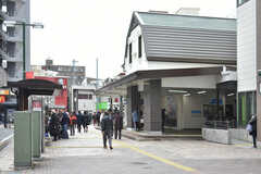 小田急線・向ヶ丘遊園駅の様子。(2019-03-01,共用部,ENVIRONMENT,1F)