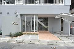 シェアハウスの入り口。(2016-09-28,周辺環境,ENTRANCE,1F)