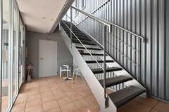 階段の様子。(2016-09-28,共用部,OTHER,1F)