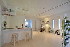 専有部の様子。モデルルームです。(301号室)(2016-09-28,専有部,ROOM,3F)