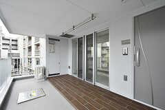玄関周りの様子。(305号室)(2016-09-28,専有部,ROOM,3F)