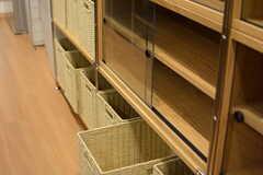 専有部ごとの収納ボックスも用意されています。(2016-02-23,共用部,KITCHEN,1F)