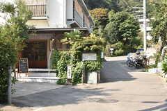 小田急線・読売ランド前駅周辺の様子。(2017-09-26,共用部,ENVIRONMENT,2F)