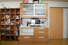 キッチン家電の様子。(2013-07-18,共用部,LIVINGROOM,1F)