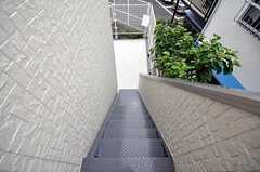 非常階段の様子。(2009-07-09,共用部,OTHER,2F)