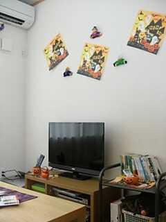 ハロウィンの装飾が施されています。 ※事業者様提供素材(2013-10-04,共用部,LIVINGROOM,1F)
