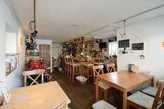 カフェの様子。(2013-04-26,共用部,OTHER,1F)