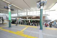 各線・溝の口駅の様子2。(2009-12-23,共用部,ENVIRONMENT,1F)
