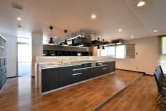 キッチンの様子2。(2021-06-10,共用部,KITCHEN,1F)