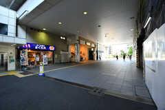 JR南武線・武蔵中原駅の様子。(2021-06-10,共用部,ENVIRONMENT,1F)