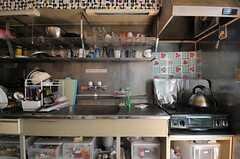 キッチンの様子2。(2014-04-01,共用部,KITCHEN,1F)