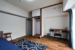 専有部の様子3。モデルルームです。(209号室)(2017-04-27,専有部,ROOM,2F)