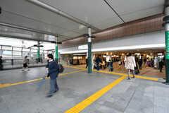 各線・溝の口駅の様子。武蔵溝ノ口駅もつながっています。(2017-04-27,共用部,ENVIRONMENT,1F)