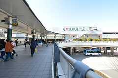 各線・溝ノ口駅の様子。(2016-03-22,共用部,ENVIRONMENT,1F)