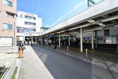 小田急小田原線・鶴川駅の様子。(2019-03-14,共用部,ENVIRONMENT,1F)