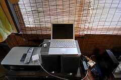 共用PCはMacです。(2011-06-01,共用部,PC,1F)