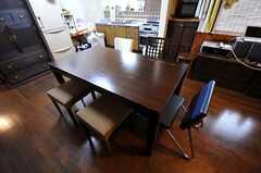 ダイニングテーブルの様子。(2011-06-01,共用部,LIVINGROOM,1F)
