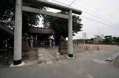 シェアハウスの近くには二子神社があります。(2011-06-01,共用部,ENVIRONMENT,1F)