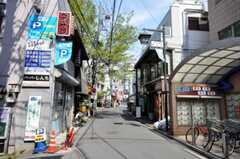 東急田園都市線二子新地駅周辺の様子。(2010-04-26,共用部,ENVIRONMENT,1F)